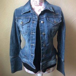 Candies Denim Jacket S Blue